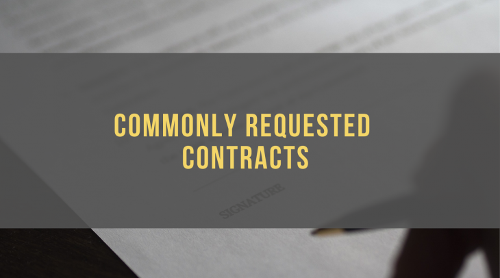 Contracts Division Forms