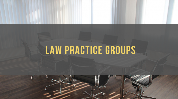 Law Practice Groups